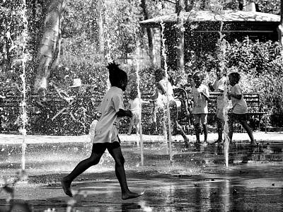 Photograph - A Water Dance by Cornelis Verwaal