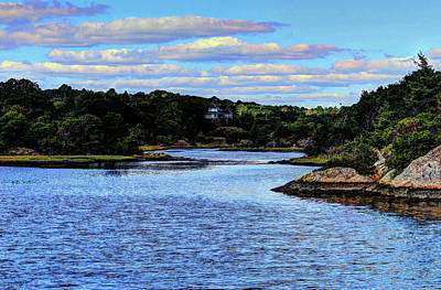 Photograph - A Water View Newport Ri by Tom Prendergast