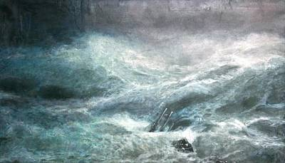 a wave my way by Jarko Art Print