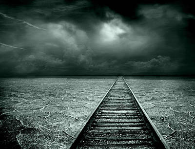 Desolate Digital Art - A Way Out by Jacky Gerritsen