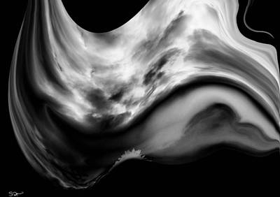 Quality Digital Art - A Whale Of A Storm 2 by Abstract Angel Artist Stephen K
