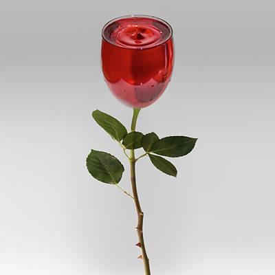 A Whole Lot Of Rose Art Print