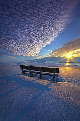 Photograph - A Whole World In Front Of Us by Phil Koch