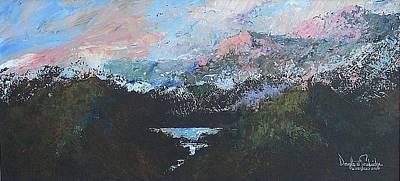 A Wilderness View Art Print by Douglas Trowbridge
