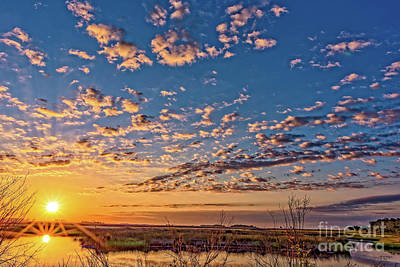 Photograph - A Wildlife Paradise Marvel Sunrise by Bill And Deb Hayes