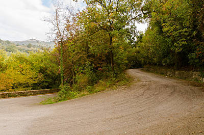 Photograph - A Winding Road 2  by Andrea Mazzocchetti