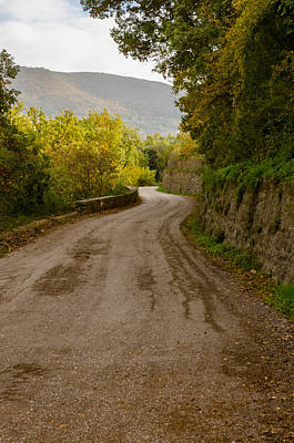 Photograph - A Winding Road 3 by Andrea Mazzocchetti