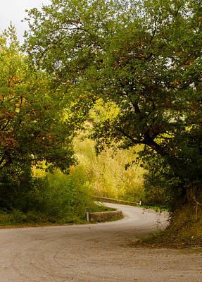 Photograph - A Winding Road by Andrea Mazzocchetti