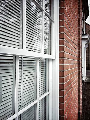 Glazing Photograph - A Window Frame by Tom Gowanlock