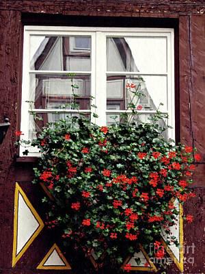 Photograph - A Window In Mainz 4 by Sarah Loft