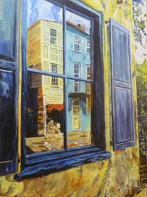 Painting - A Window In Old Charleston by Bryan Bustard