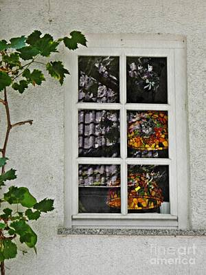 Photograph - A Window In Schierstein 19 by Sarah Loft