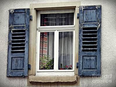 Photograph - A Window In Schwaigern by Sarah Loft