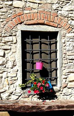 A Window In Tuscany Original