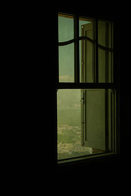 A Window Out To The Sea Art Print by Valmir Ribeiro