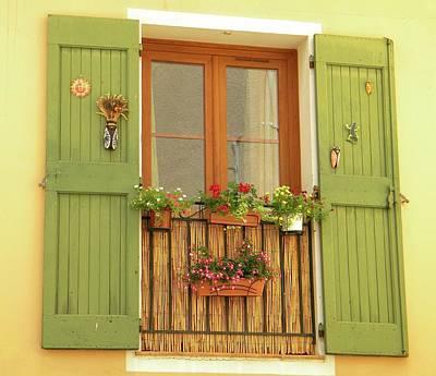 A Window To...provence Art Print