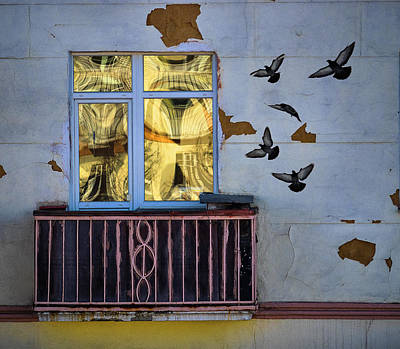 Photograph - A Window by Vladimir Kholostykh