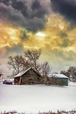 A Winter Eve 2 Art Print