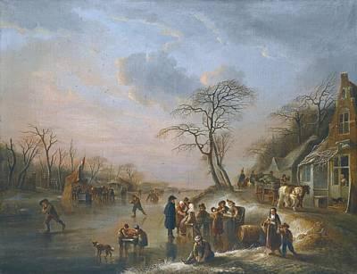 A Winter Landscape Print by Celestial Images