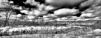 Art Print featuring the photograph A Winter Panorama by David Patterson