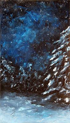 A Winter Snow Art Print
