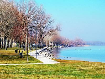 Photograph - A Winter Walk At Lago Trasimeno by Dorothy Berry-Lound