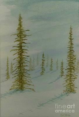 A Winter Walk Original