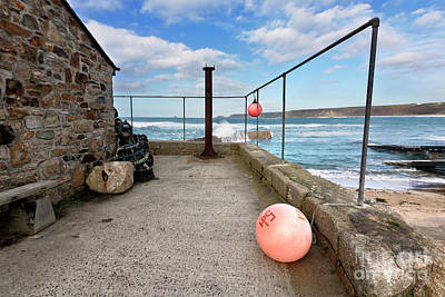 Photograph - A Winters Day In Sennen Cove by Terri Waters