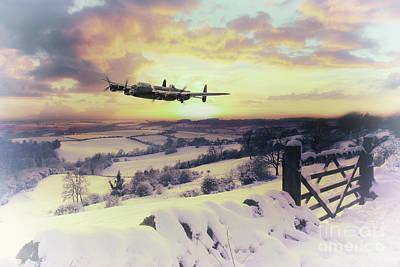 A Winters Wonder Art Print by J Biggadike