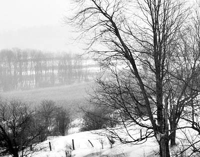 A Wintry Day Art Print