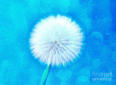 Floral Digital Art Digital Art Digital Art - A Wish For You by Krissy Katsimbras