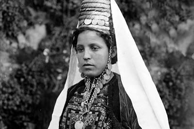 Door Locks And Handles - A woman from Bethlehem by Munir Alawi