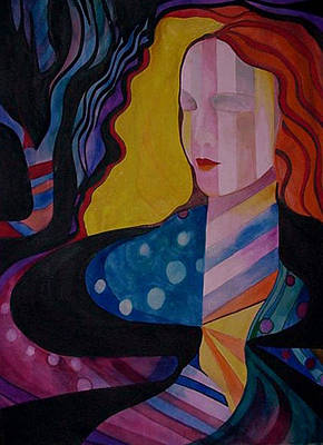 A Woman Of Color Art Print by Carolyn LeGrand