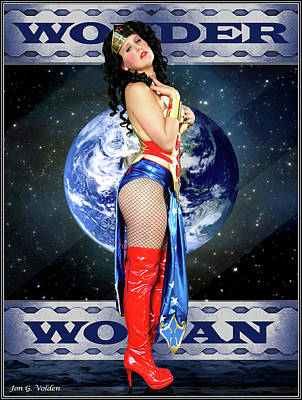 Photograph - A Wonder Woman by Jon Volden
