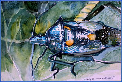 A Wondering Bug Original by Mindy Newman