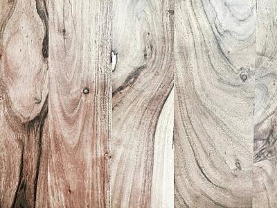 A Wood Surface Art Print