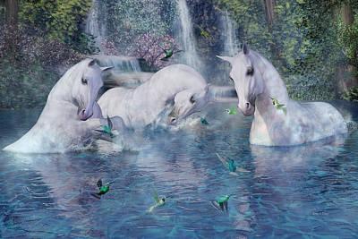 Animals Digital Art - A World Beyond by Betsy Knapp