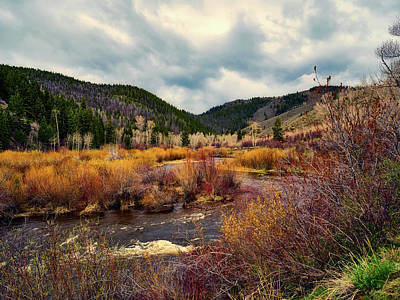 Photograph - A Wyoming Autumn Day by L O C