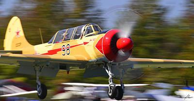 A Yak-52 At Reklaw Art Print