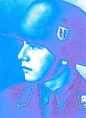 Salvation Painting - A Young Soldier 6 by Celestial Images