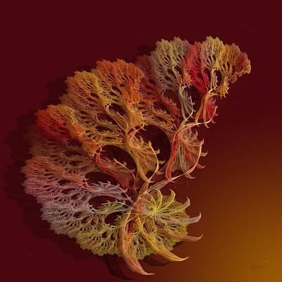 a051 Multilegged Tree_r Art Print