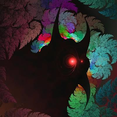Free Energy Digital Art - a054 Buenos Dias - Told Ya I'll Be Back by Drasko Regul
