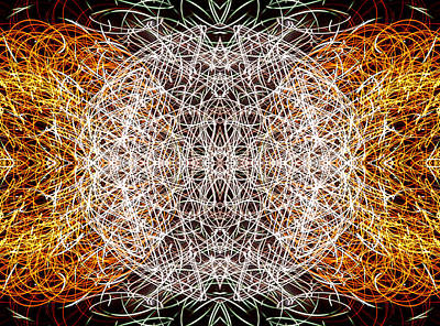 Spherical Chaos Art Print