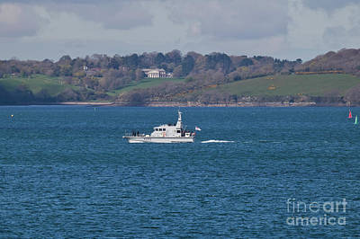 Photograph - A130 Hms Ranger  by Terri Waters