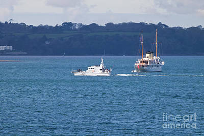 Photograph - A133 Hms Ranger  by Terri Waters