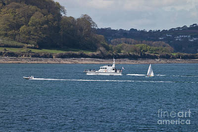 Photograph - A135 Hms Ranger  by Terri Waters