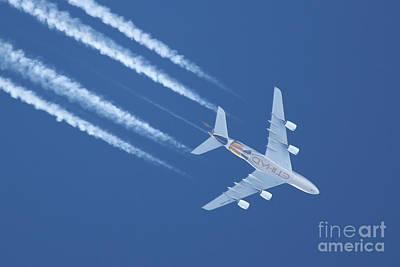 Photograph - A380 Etihad by Ludek Sagi Lukac