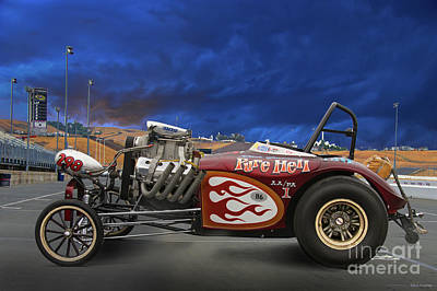 Photograph - Aa Altered Fuel 'infamous Pure Hell' by Dave Koontz