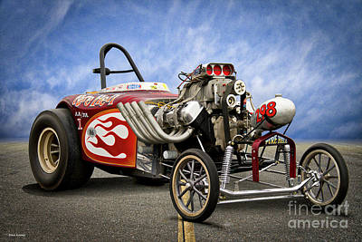 Photograph - Aa Altered Fuel 'infamous Pure Hell' II by Dave Koontz