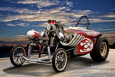 Photograph - Aa Altered Fuel 'infamous Pure Hell' V by Dave Koontz